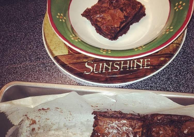 Yummy Homemade Ghiradelli Brownies
