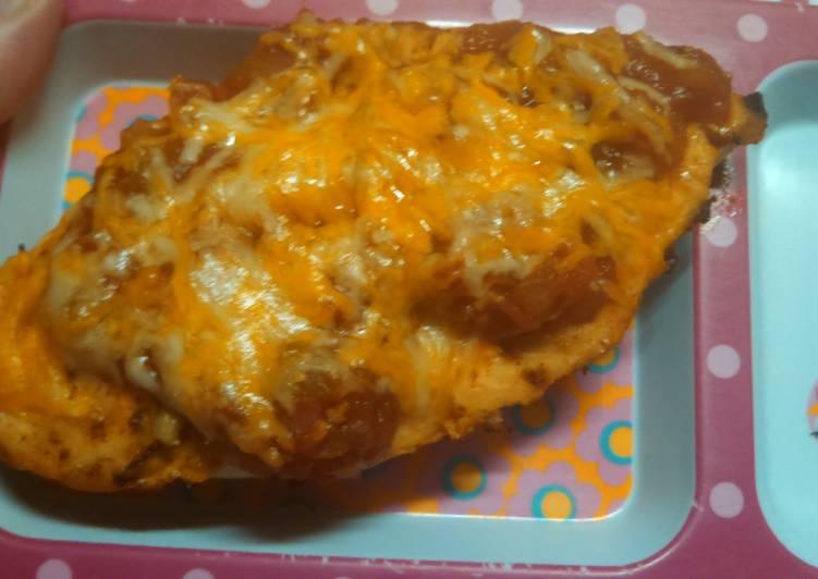 Cheesy Taco Chicken Breast