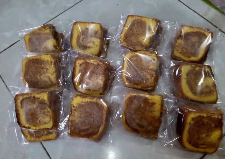 Bolu Marble (Marble Cake)