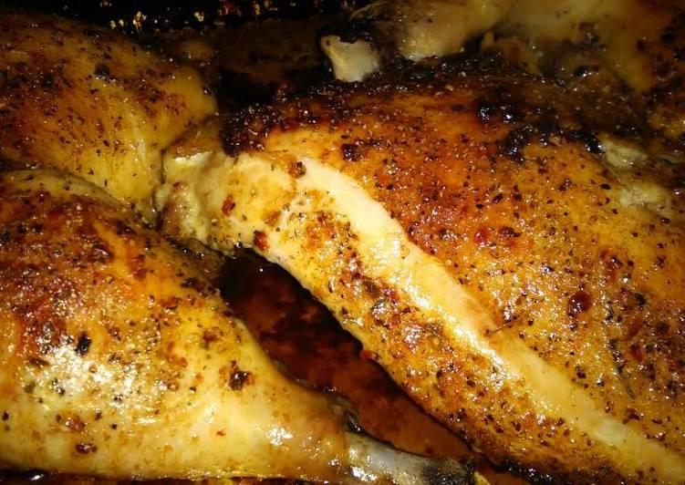 Garlic blend herb roasted chicken