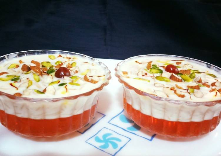 Jelly With Vermicilli Kheer