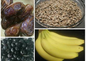 How to Prepare Perfect Banana Blueberry Bars