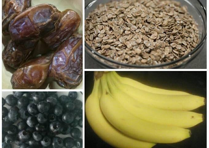 Banana Blueberry Bars