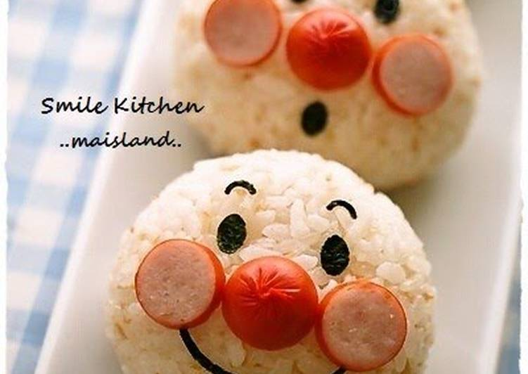 Selecting The Best Foods Can Help You Stay Fit And Healthy Anpanman Onigiri Charaben