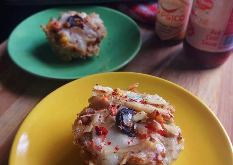 Penko Chicken Cups, Scrambled Egg Salad
