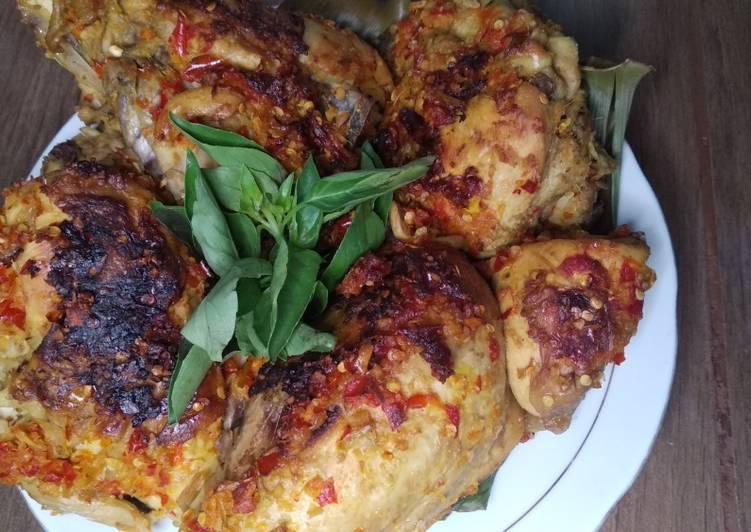 Ayam Panggang pedas empuk