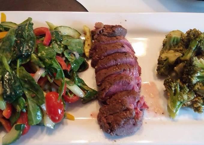 Gourmet Light Steak Meal