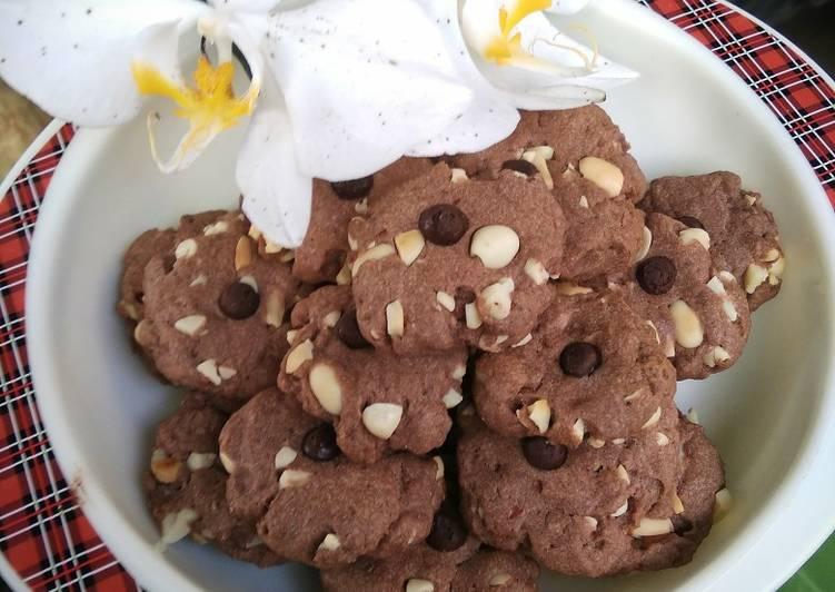Cookies Coklat Kacang