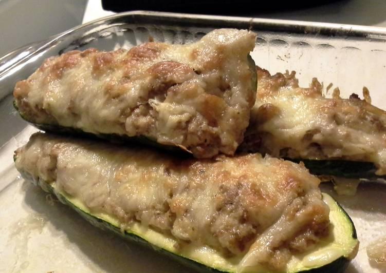 Recipe: Tasty Zucchini boats