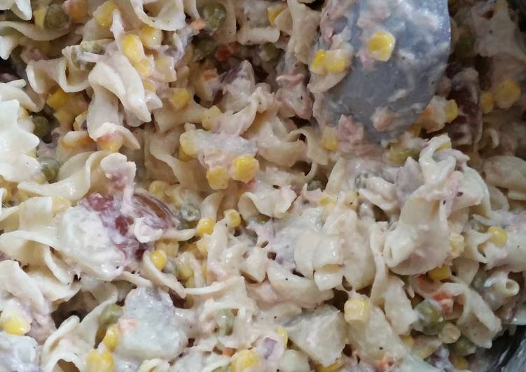 Super Easy Tuna Potato Salad