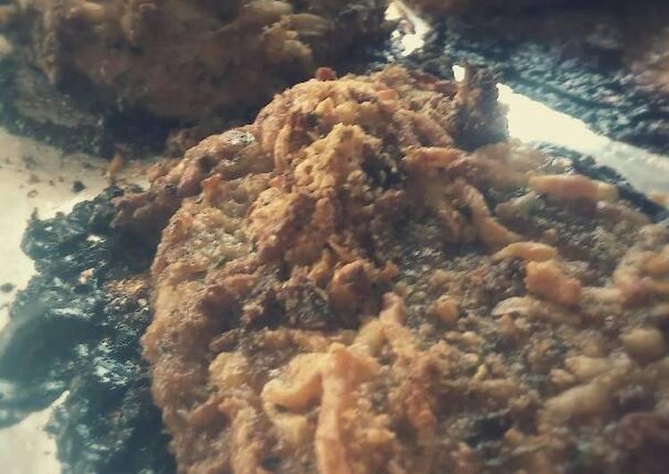 Bacon cheesy breaded pork chops