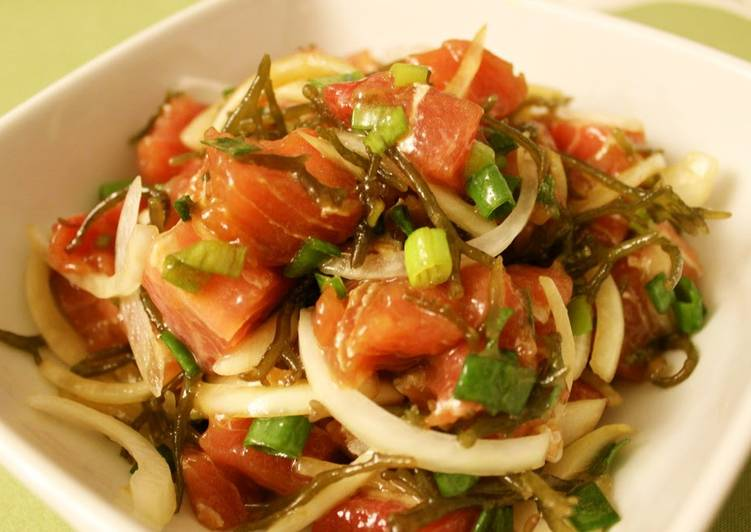The Best Side Dish! Hawaiian Ahi Poke