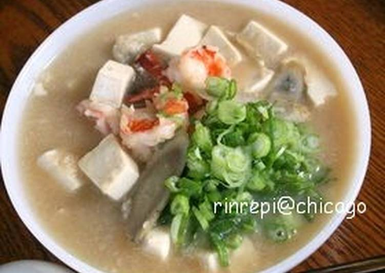 Grated Lotus Root Soup