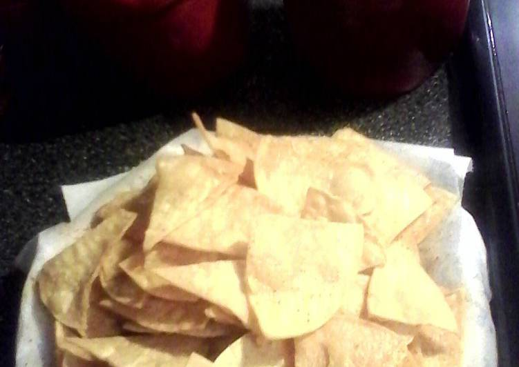 Easiest Way to Prepare Delicious Homemade Tortilla Chips
