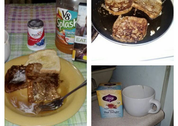 Quick and Easy Recipe: Yummy Honey french toast