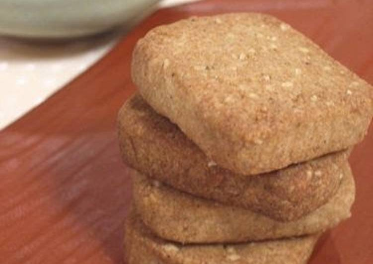 Buckwheat Flour Flavored Cookies