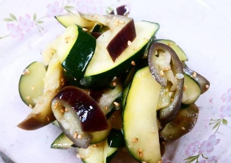 New Secret Easy Aubergine and Zucchini Namul Free Download