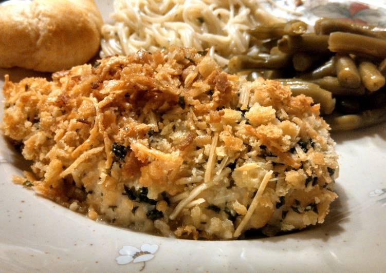 Steps to Make Ultimate Ritz Cracker Chicken