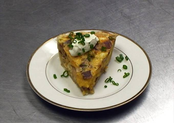 Quiche (Bacon, Egg, and Cheese Pie)