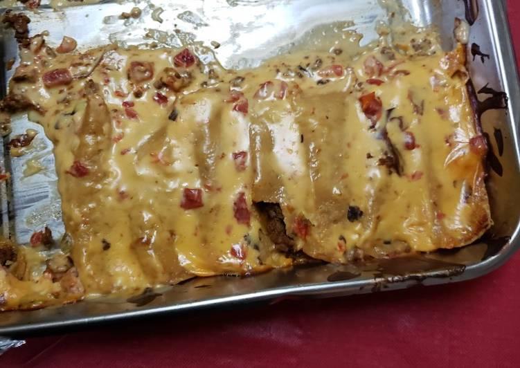 Queso Enchiladas