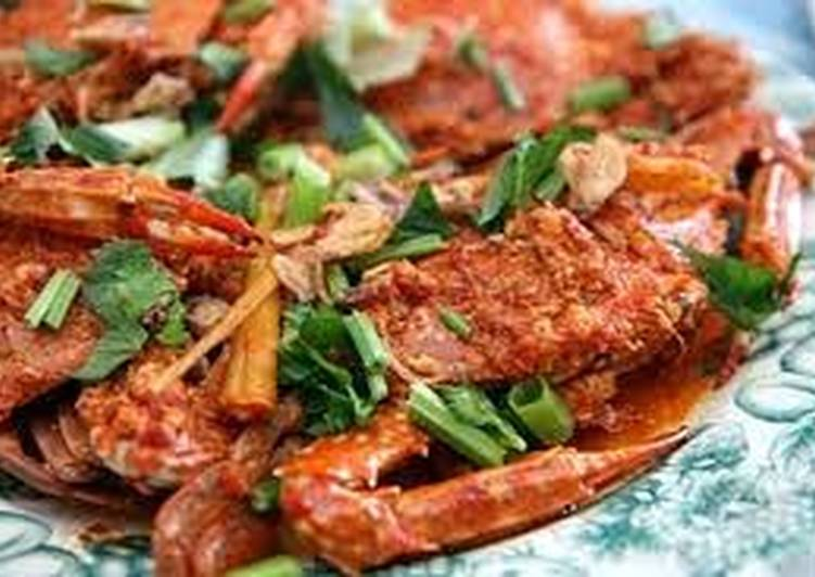 cook spicy crab