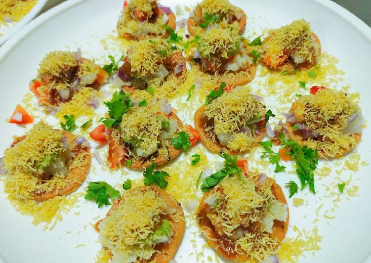30 Minute Easiest Way to Make Homemade Sev puri