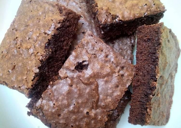 Chewy Fudge Brownies