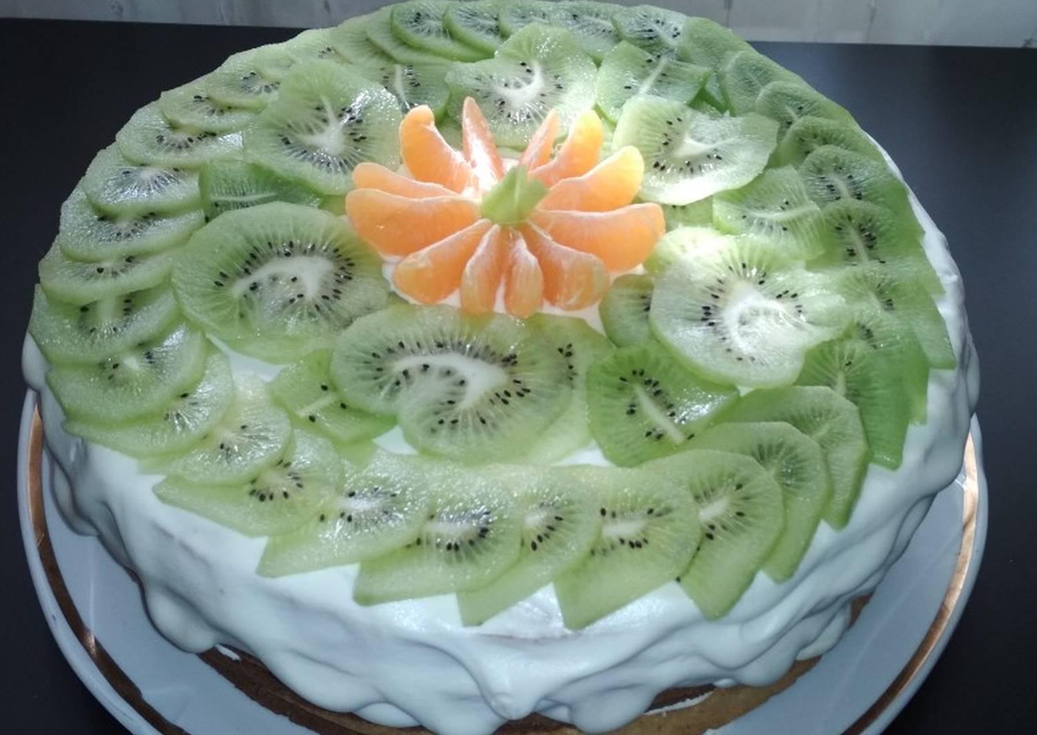 подарок может легкий фруктовый торт рецепт с фото подготовленную