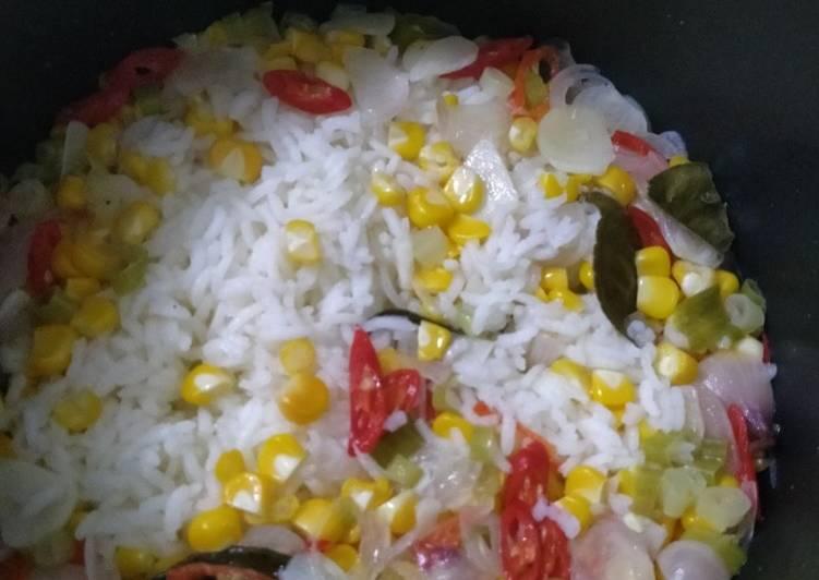 Nasi jagung sederhana