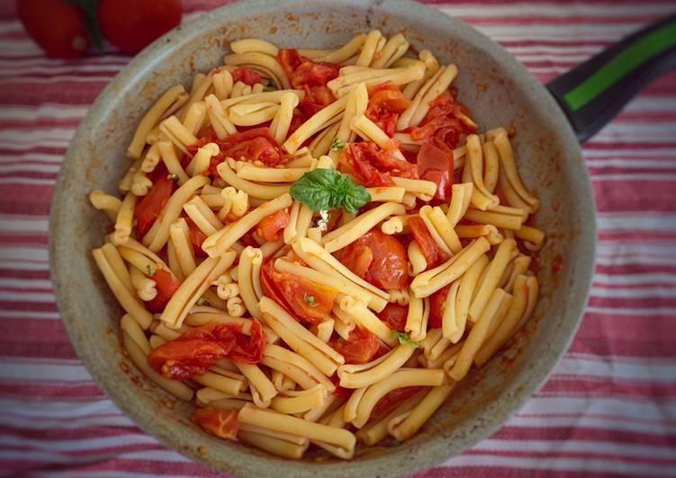 Ricetta Pasta alla Carrettiera
