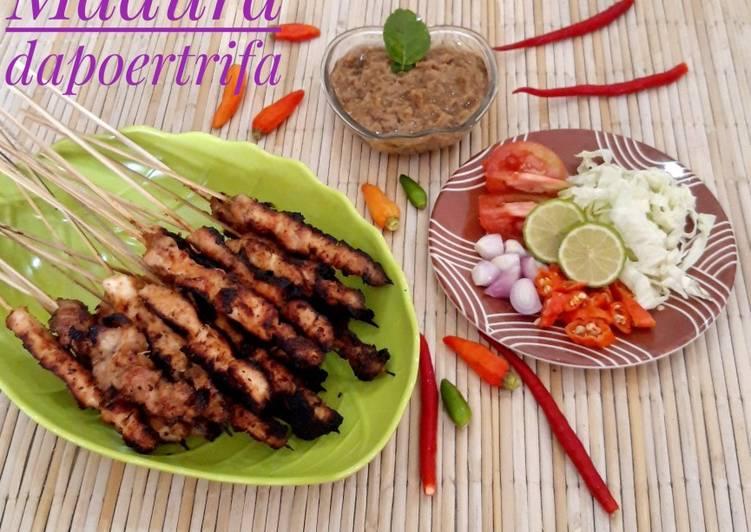 Resep Sate Ayam Madura Ala Abang2 Oleh Nandita Abdi Dapoertrifa Cookpad
