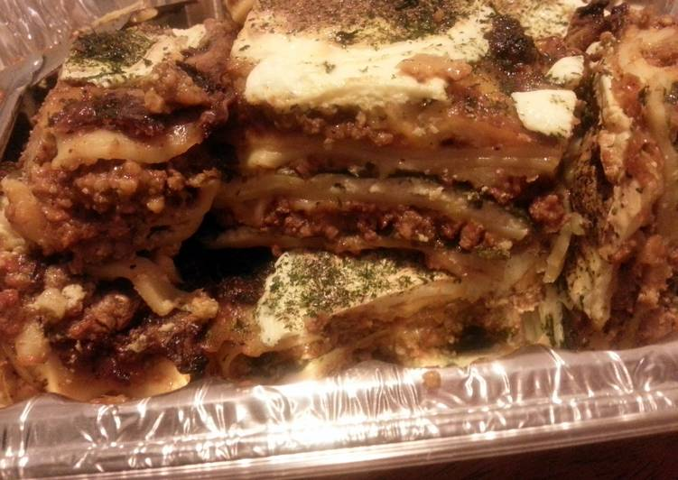 Simple Way to Make Perfect Freak Spicey Italian Lasagna