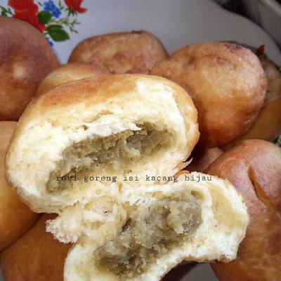Resep Roti Goreng Isi Kacang Hijau Oleh Laylla Gama Cookpad