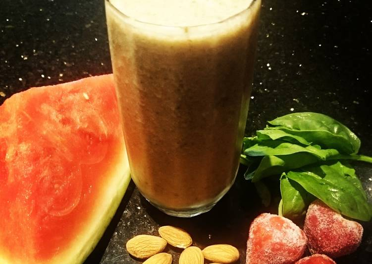 The Nutty Strawberry Professor Smoothie