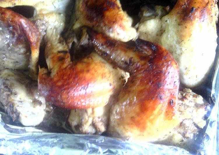American style Jerk chicken