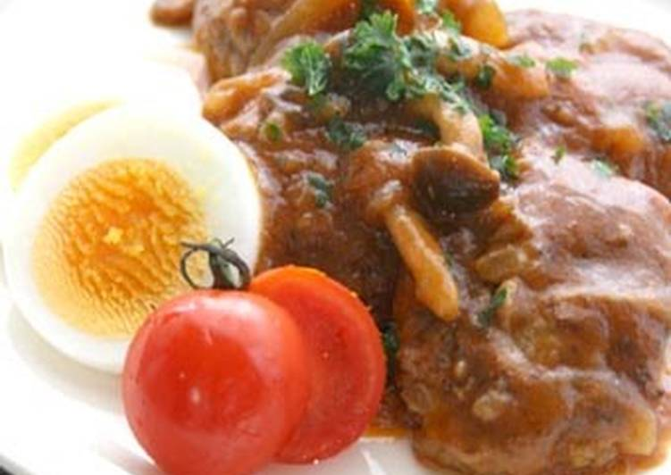 Stewed Hamburger Steak