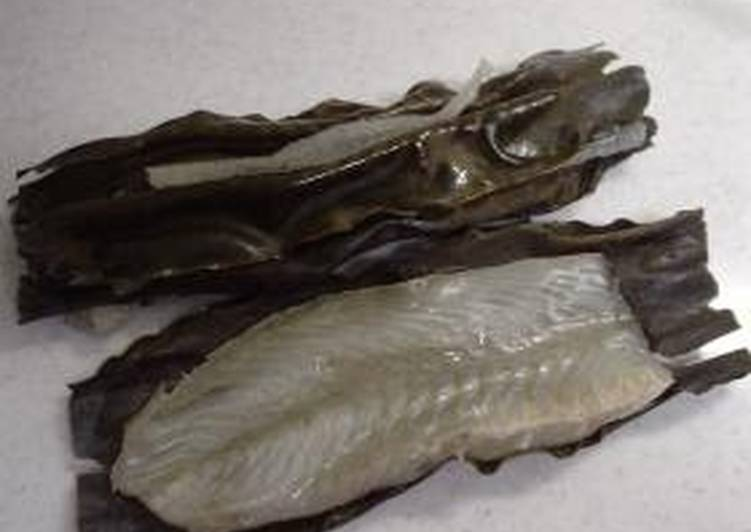 Kombu-Marinated Flounder