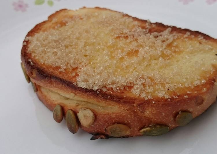 Butter And Sugar Breakfast Toast