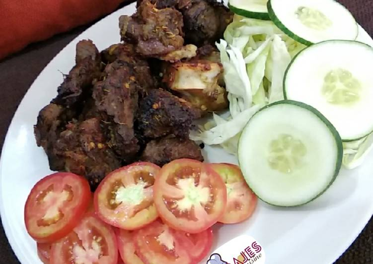 Recipe of Speedy Simple grilled beef