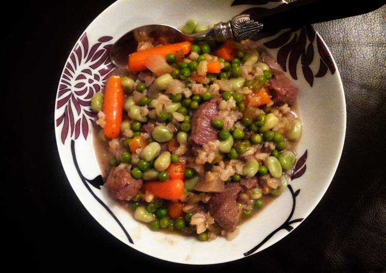 Quick and Easy Recipe: Tasty Lamb With Spring Vegetables