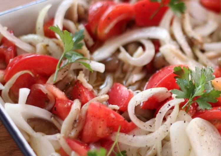 The Food Items You Select To Feed On Will Certainly Effect Your Health Marinated Shimeji Mushrooms and Tomato Summer Salad