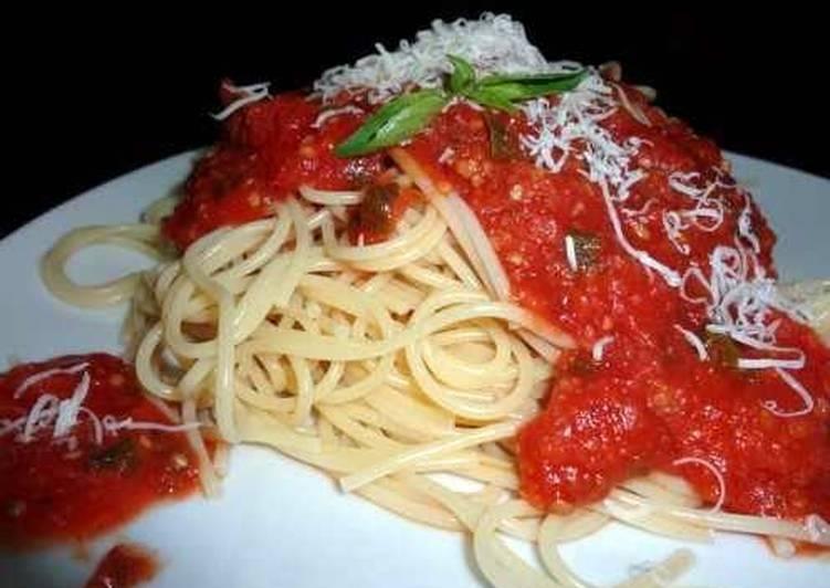 How to Prepare Award-winning Homemade Spaghetti Sauce