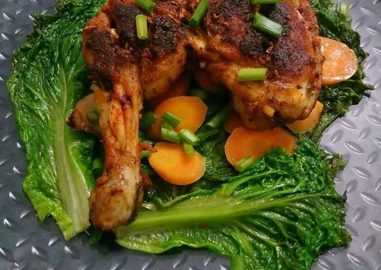 Pan Roasted Chicken Leg