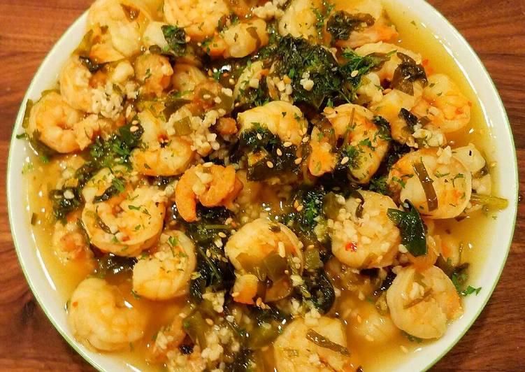 Mike's Thai Shrimp Soup