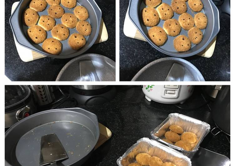 Steps to Prepare Homemade Eggless Coconut Cookies