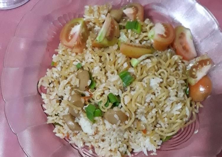 Nasi Mawut Sosis