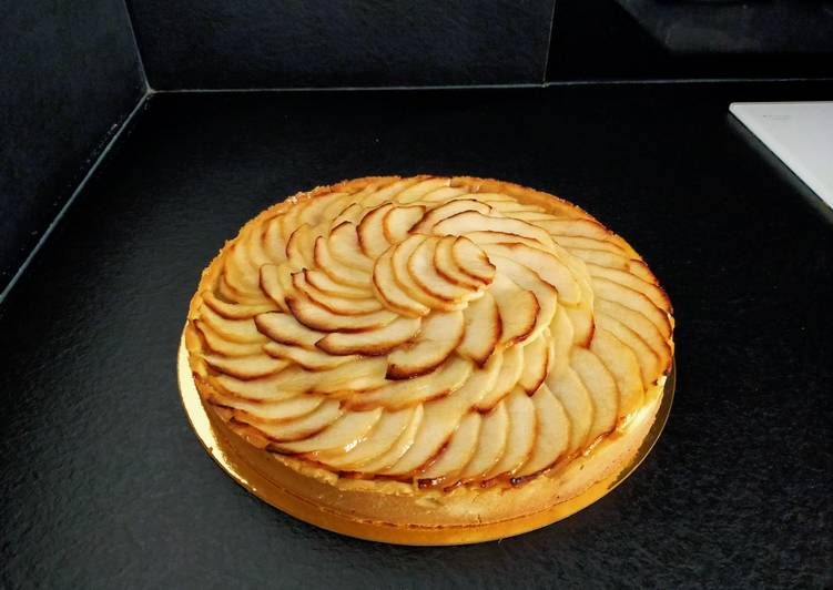 How to Cook Tasty Tarte aux pommes facile