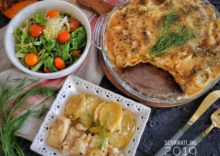 Baked Potato Fish? #tantanganakhirtahun #masakditahunbaru