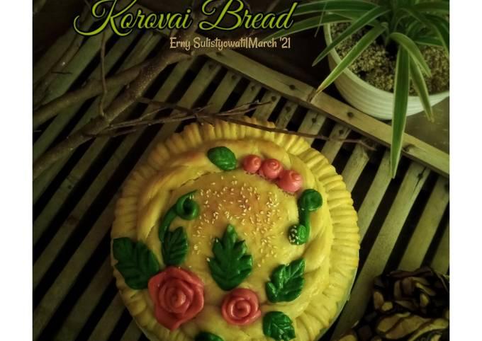 Korovai Bread (Isi Kacang Hijau)_Autolyse method