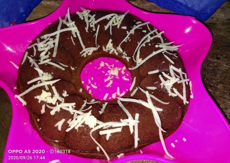 Bolu kukus chocolatos lembut + simpel-no mixer
